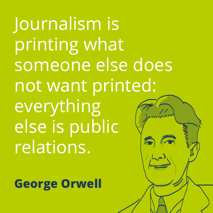 PR Quotes 60 Famous Sayings About Public Relations Prezly Impressive Journalism Quotes